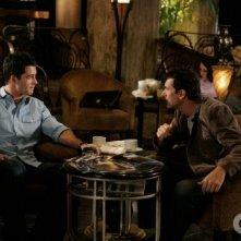 Brian Hallisay e Robert Mailhouse in una scena dell'episodio All About Insecurities di Privileged
