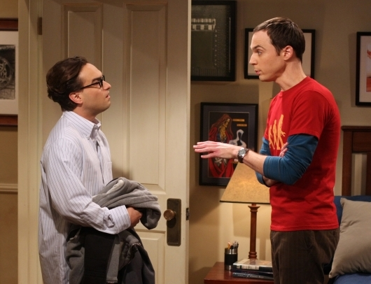 Jim Parsons E Johnny Galecki Nell Episodio The Lizard Spock Expansion Di The Big Bang Theory 95797