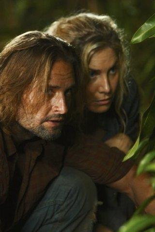 Josh Holloway ed Elizabeth Mitchell in una delle prime foto disponibili dell'episodio Because You Left di Lost