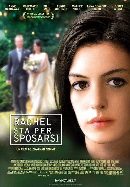 La Locandina Italiana Di Rachel Sta Per Sposarsi 95970