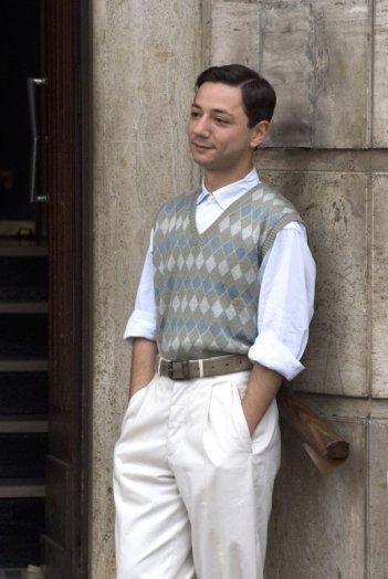 Pierpaolo Zizzi in un'immagine del film Gli amici del Bar Margherita