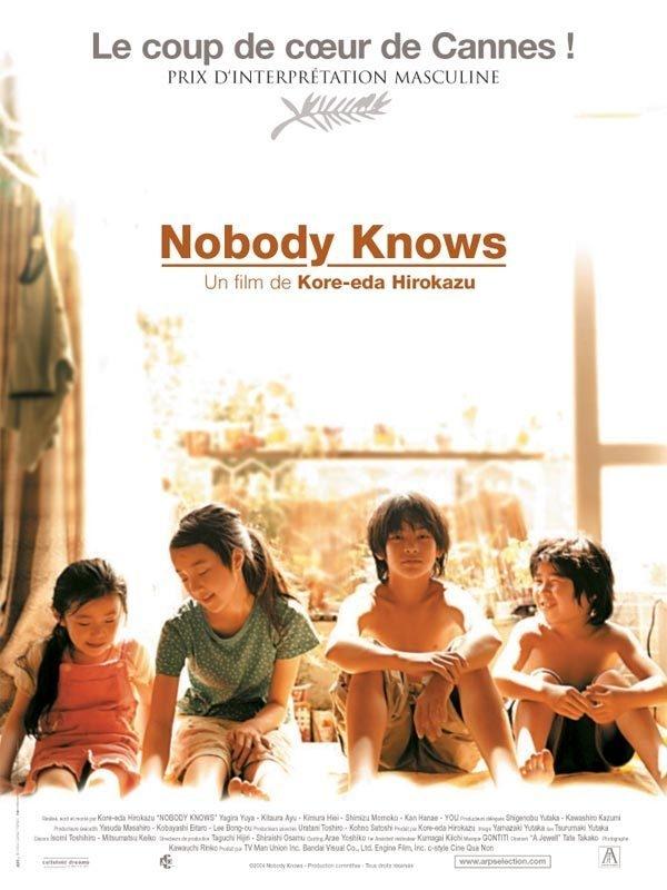 Poster Del Film Nobody Knows 95954