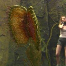 Anita Briem in una scena del film Viaggio al centro della Terra 3D