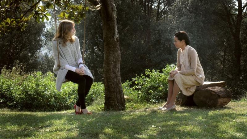 Belen Fabra E Geraldine Chaplin In Una Scena Del Film Diario Di Una Ninfomane 96144