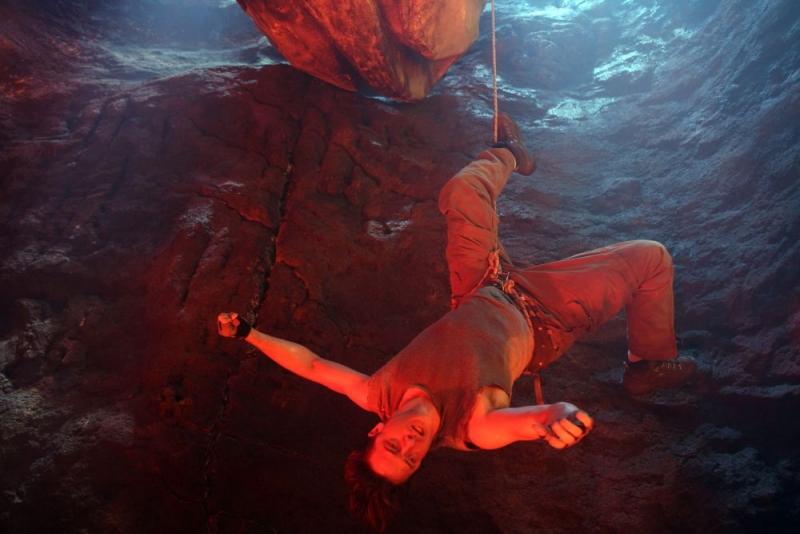 Brendan Fraser In Una Scena Del Film Viaggio Al Centro Della Terra 3D 96092