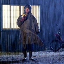 Elio Germano in una scena del film Come Dio comanda, diretto da Gabriele Salvatores