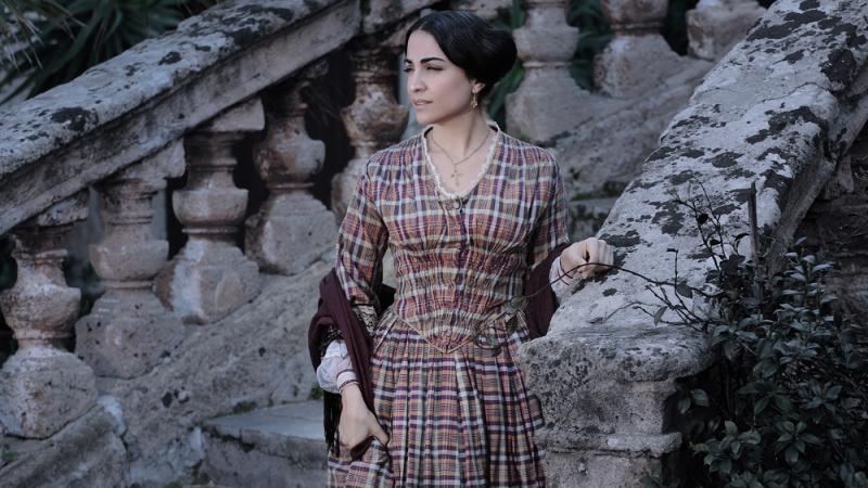 Emanuela Mule Nei Panni Di Cristina Ne La Baronessa Di Carini Diretto Da Umberto Marino 96073