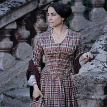 Emanuela Mulé nei panni di Cristina ne La baronessa di Carini diretto da Umberto Marino