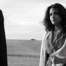 Emanuela Mulé nel ruolo di Francesca ne L'avvoltoio di Giuseppe Moschella