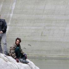 Filippo Timi ed Elio Germano in un'immagine del film Come Dio comanda