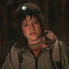 Josh Hutcherson in una scena del film Viaggio al centro della Terra 3D