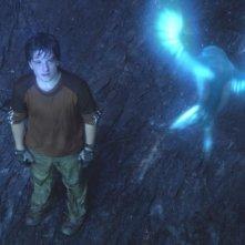 Josh Hutcherson in una scena di Viaggio al centro della Terra 3D