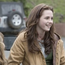 Kristen Stewart in una scena dell'atteso Twilight