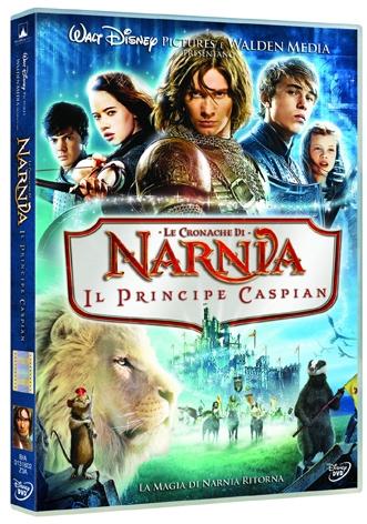 La Copertina Di Le Cronache Di Narnia Il Principe Caspian Dvd 96031
