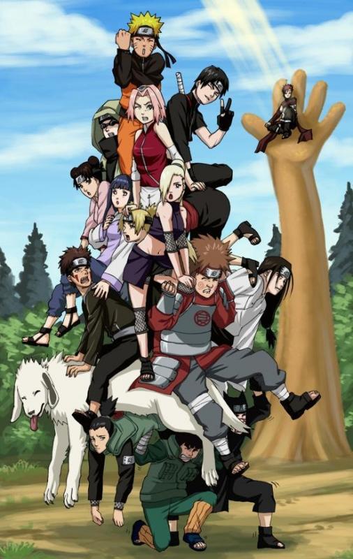 La Locandina Di Naruto Le Cronache Dell Uragano 96040