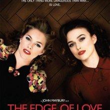 La locandina inglese di The Edge of Love