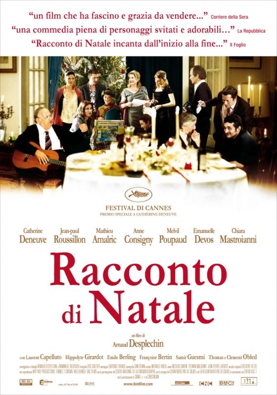 La Locandina Italiana Di Un Conte De Noel 96054