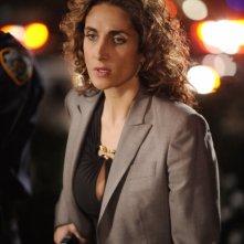 Melina Kanakaredes in una scena dell'episodio 'My name is Mac Taylor' della serie tv CSI New York