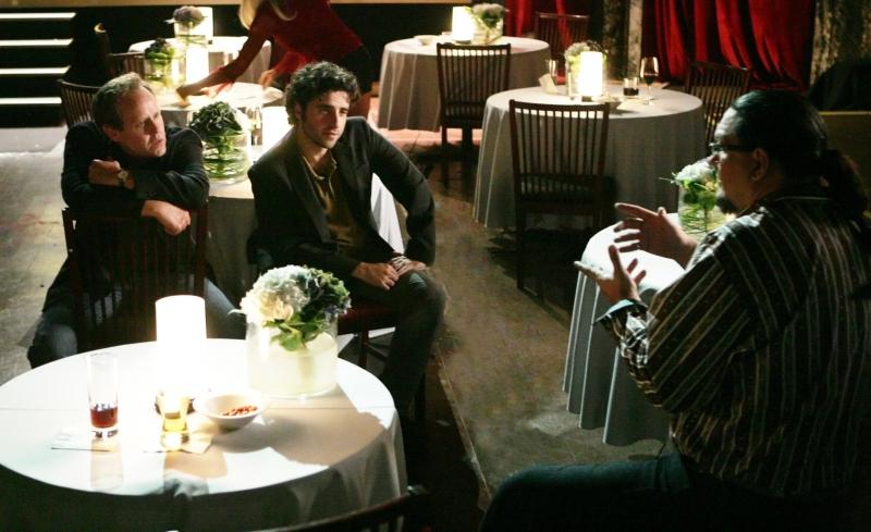 Peter Macnicol David Krumholtz E Penn Jillette Nell Episodio Magic Show Della Serie Tv Numb3Rs 96224
