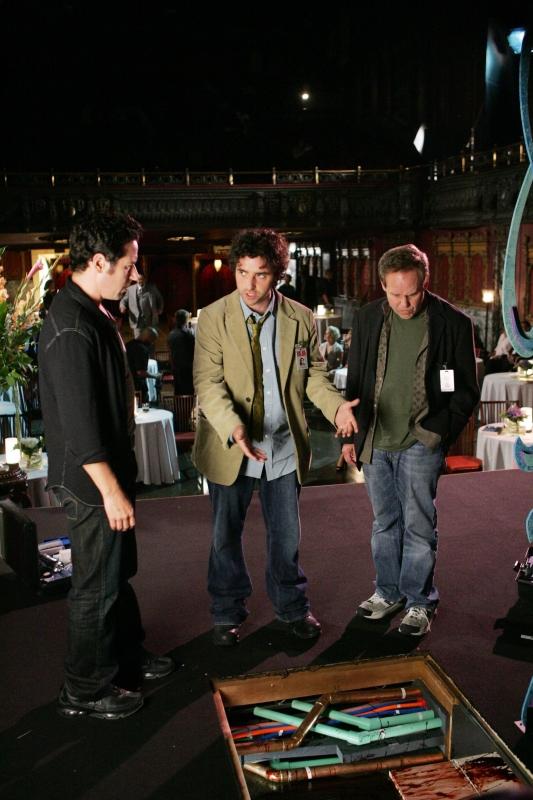 Rob Morrow David Krumholtz E Peter Macnicol Nell Episodio Magic Show Della Serie Tv Numb3Rs 96222