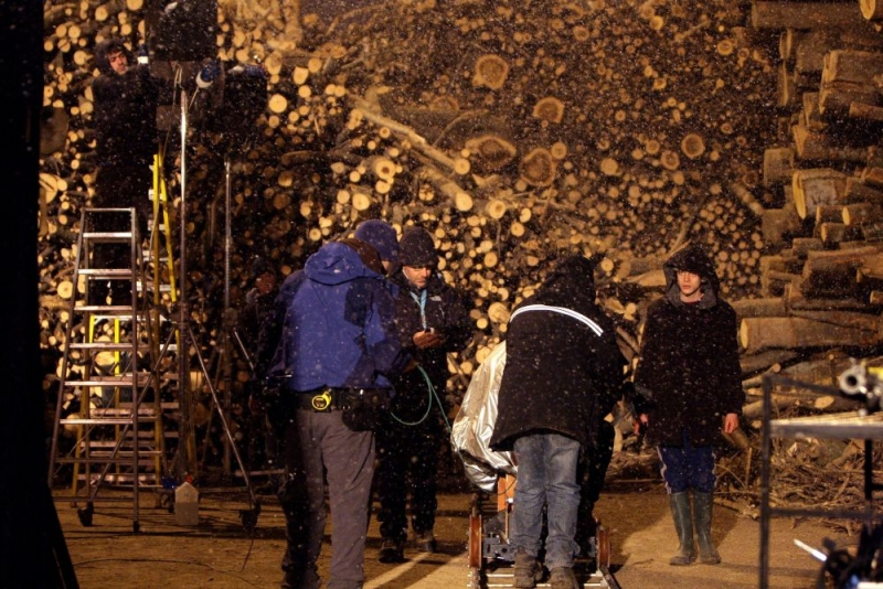 Un Immagine Dal Set Del Film Come Dio Comanda 96062