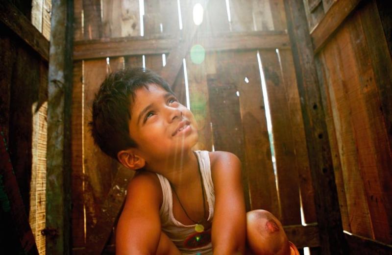 Un Immagine Del Film Slumdog Millionaire 96159