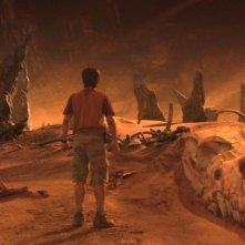Un'immagine del film Viaggio al centro della Terra 3D