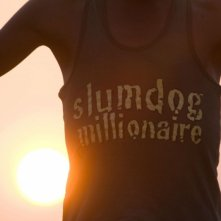 Un'immagine tratta dal film Slumdog Millionaire