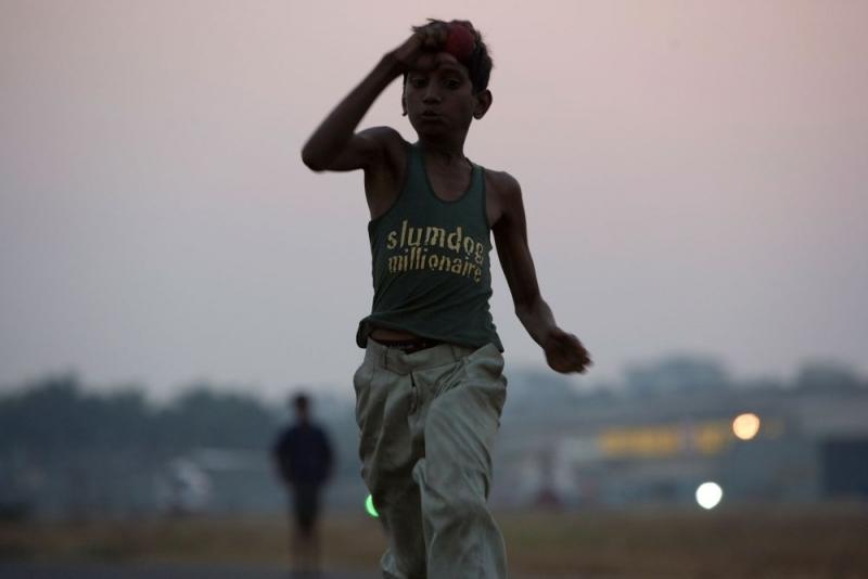 Un Immagine Tratta Dal Film Slumdog Millionaire Di Danny Boyle 96187