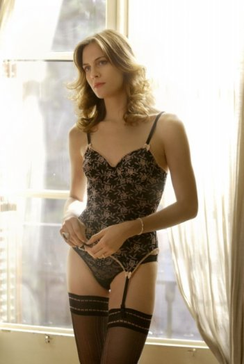 Una foto sexy di Belén Fabra, protagonista del film Diario di una ninfomane