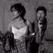 Una immagine di Emanuela Mulé nel ruolo di Santina in 'Ferragosto' di Giuseppe Moschella
