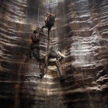 Una scena del film Viaggio al centro della Terra 3D