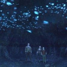 Una suggestiva immagine del film Viaggio al centro della Terra 3D