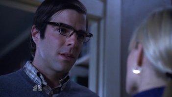 Zachary Quinto nell'episodio Villains di Heroes