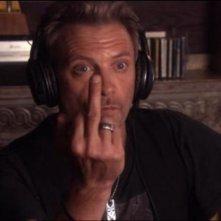 Callum Keith Rennie in una sequenza dell'episodio 'In a Lonely Place' di Californication