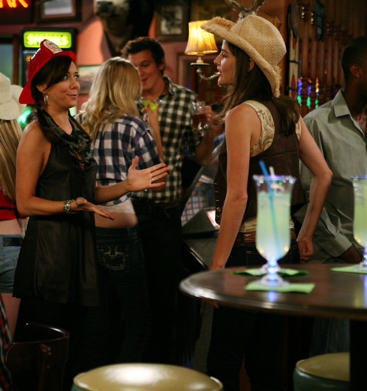 Cobie Smulders Ed Alyson Hannigan Nell Episodio Woooo Di How I Met Your Mother 96364