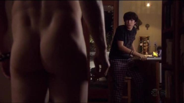 David Duchovny Callum Keith Rennie E Madeline Zima In Una Scena Dell Episodio In A Lonely Place Di Californication 96343