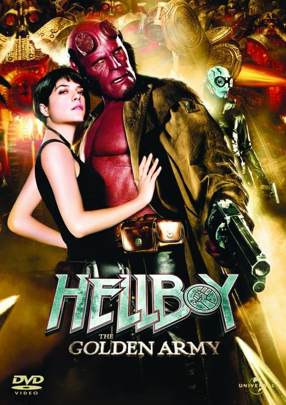 La Copertina Di Hellboy The Golden Army Dvd 96098