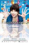 La locandina italiana di La felicità porta fortuna - Happy Go-Lucky