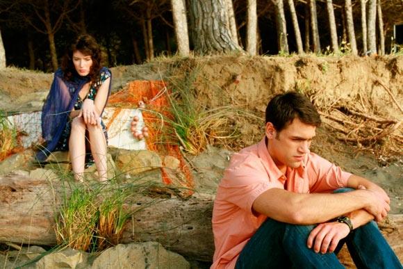 Nausica Benedettini E Ivo Micioni In Un Immagine Del Film Stare Fuori 96280