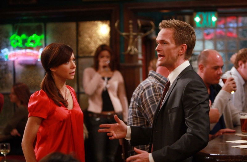 Neil Patrick Harris Ed Alyson Hannigan Nell Episodio The Naked Man Di How I Met Your Mother 96377