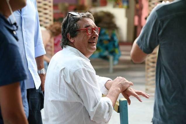 Neri Parenti Sul Set Del Film Natale A Rio 96297