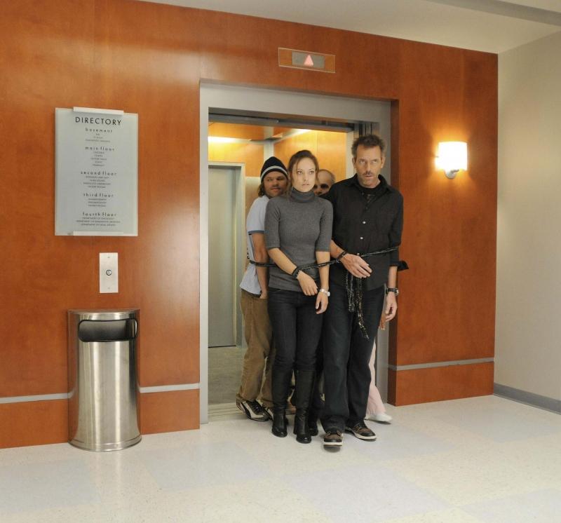 Olivia Wilde E Hugh Laurie In Una Scena Dell Episodio Last Resort Della Serie Dr House Medical Division 96369