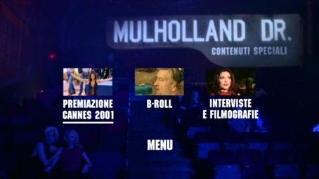 Gli Extra Del Primo Disco Di Mulholland Drive Edizione Speciale 96407