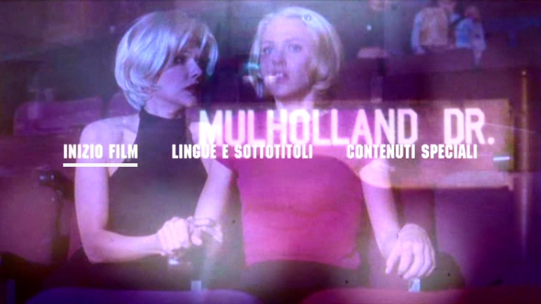 Il Menu Principale Del Primo Disco Di Mulholland Drive Edizione Speciale 96408