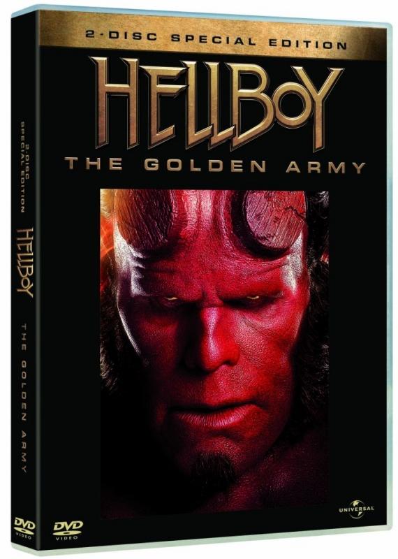 La Copertina Di Hellboy The Golden Army Edizione Speciale Dvd 96100