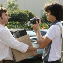 Michael Steger e Ryan Eggold nell'episodio Games People Play di 90210