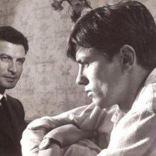 Alain Delon ed Erno Crisa in una sequenza del film Delitto in pieno sole