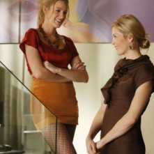 Blake Lively e Kelly Rutherford nell'episodio 'The Magnificent Archibalds' della serie tv Gossip Girl