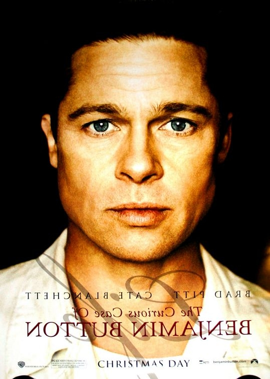 Character Poster Per Il Film The Curious Case Of Benjamin Button Brad Pitt 96489